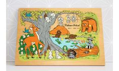 Puzzle bois FISHER PRICE