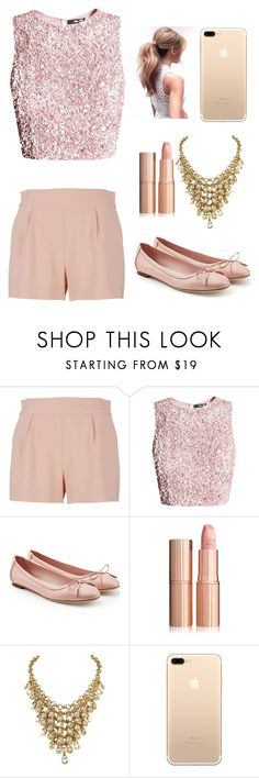 """Soy Luna look- Ambar"" by newani2015 ❤ liked on Polyvore featuring Moschino and Salvatore Ferragamo"