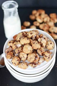 Oatmeal Chocolate Chip Cookie Cereal