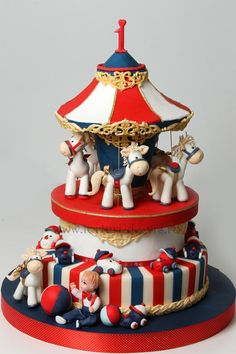 Carousel for Ayan - Cake by Viorica Dinu