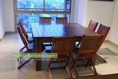 Mesas Cuadradas para 8 personas