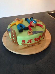 Buurman en Buurman taart. Pat & Mat cake!