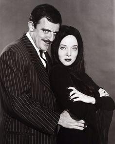 THE ADDAMS FAMILY (1964-1966) Gomez and Morticia Addams
