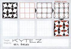 Kytez, a fun grid pattern by Neil Burley