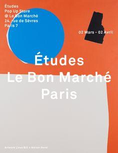 etudes-studio:  Études Pop Up Store @ Le Bon Marché Paris starts tomorrow!