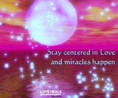 love creates miracles ...   ~☆~