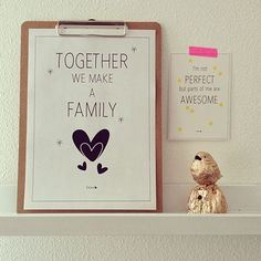 Together: a free #printable poster by Elske! | www.elskeleenstra.nl