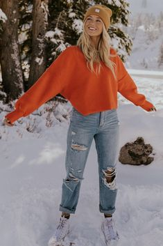 Casual School Outfits, Teenage Outfits, Cute Comfy Outfits, Stylish Outfits, Cute Jean Outfits, Cute Outfits For Teens, School Outfits Highschool, Cute Outfit Ideas For School, Snow Outfits For Women