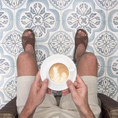 Coffee and tiles in Mauritius by hoyertrollnes