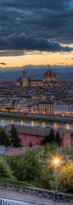 Firenze, Italy - From Michelangelo Piazza