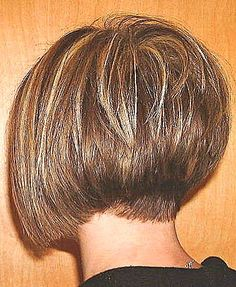 A-Line Bob Haircut #stackedbob #graduatedbob #angledbob