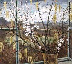 """Christopher Nevinson, """"View of the Sussex Weald"""" (c. 1927) First Known When Lost: """"The Region November"""" Revisited"""