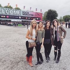 Festivaltime  #RW16 #rockwerchter #music #festival #love #girls #party #summer #belgium #boots #rain #igers #instagood