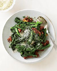 Broccoli Rabe with Sausage Recipe on Food & Wine