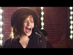 Demi Lovato - Give Your Heart A Break (Capital FM Session) - YouTube