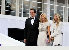 Princess Maria Olympia of Greece with her parents Crown Prince Pavlos & Crown Princess Marie-Chantal