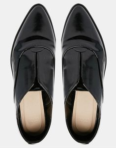 Image 3 ofASOS MATCH POINT Pointed Flat Shoes