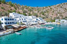 Loutro, Rodakino and Palekastro are some of the well Crete hidden places, for anyone who would like to meet the authentic beauty of the island. Crete Holiday, Destinations, Crete Island, Hidden Places, Amazing Sunsets, Amazing Places, Crete Greece, Beautiful Islands, Greek Islands