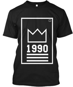 Show the World Who's Boss - EST. 1990   STREET WEAR T-SHIRT   MENS FASHION CASUAL WEAR SCREENPRINT TOPS   CUSTOM DESIGN