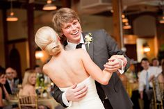 First Dance Real Wedding | A Classic Southern Yellow Wedding