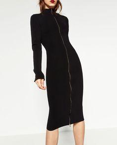 ZIPPED DRESS-DRESSES-WOMAN | ZARA United States