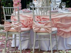 Hey, I found this really awesome Etsy listing at http://www.etsy.com/listing/130578098/two-pink-bows-with-large-pearl-chiavari