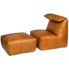 // Mario Bellini Le Bambole Chair and Ottoman for B&B Italia, ca.1972