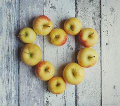 Déclarez votre flamme avec des pommes !