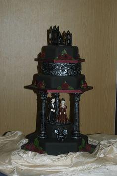 halloween wedding Cakes.