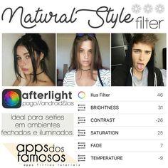 """1,804 curtidas, 66 comentários - @appsdosfamosos no Instagram: """"Filtro bem levezinho pra vocês #adffiltros #adfafterlight"""""""
