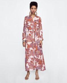 ZARA - WOMAN - PAISLEY PRINT DRESS