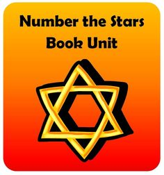 Number the Stars Book Unit aligned to the Common Core State Standards includes vocabulary, comprehension questions, constructive response questions, and lessons on commas and figurative language. $