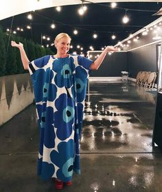 I made this dress to celebrate the year of independent Finland! The dress made based on the model of the Marimekko Dress, Hijab Wear, Scandinavian Style, Fabric Patterns, Finland, Dress Making, Textiles, Style Inspiration, Thoughts