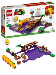 LEGO Super Mario 71383 Ekstrabanesett Wigglers giftsump Lego Super Mario, Overwatch, Yoshi, Nerf, Nintendo, Toys, Velvet, Creative, Activity Toys