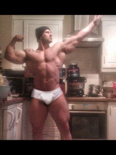 Monday wake-up call Muscle Hunks, Muscular Men, Male Form, Hat Making, Slip, Mens Fitness, Short, Hot Guys, Handsome