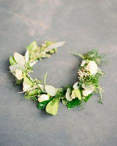 #couronne #fleurs #mariage #wedding