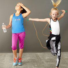 Get Sporty: Tween Activewear