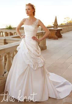 Check out this #weddingdress: 2050 by Casablanca Bridal via iPhone #TheKnotLB from #TheKnot