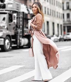 Dusty Pink: Street Style Edition