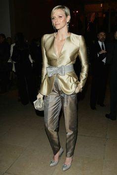 Princess Charlene of Monaco Fashion Week, Fashion Show, Plus Fashion, Fashion Trends, Grace Kelly, Giorgio Armani, Princesa Charlene, Style Royal, Princesa Carolina
