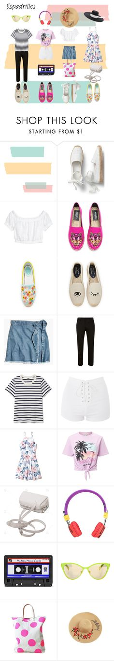 """pastel"" by raluca48 ❤ liked on Polyvore featuring Kenzo, René Caovilla, Soludos, Madewell, Topshop, Hollister Co., Miss Selfridge, Italia Independent and Missoni"