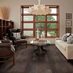 Hardwood Nottoway Hickory II - HW446 - Stonehenge - Flooring by Shaw - kitchen floor
