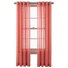 Buy Seascape Grommet Top 84 Inch Window Curtain Panel In