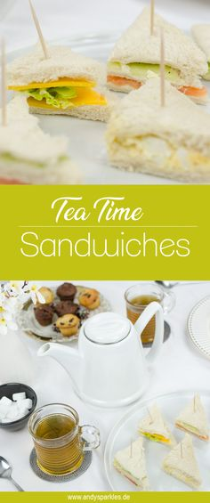 Tea Time Sandwiches - with a raffle for the Bredemeijer teapot! Tea Time Snacks, Vegetarian Teas, Tea Time Quotes, British Tea Time, Tea Time Magazine, Tee Sandwiches, Green Tea Detox, Easy Snacks, Relleno