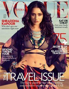Vogue india Shraddha Kapoor cover