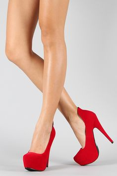need a red heel