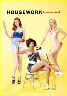 modern pinups.  desperate housewives.