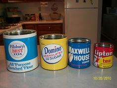 Love Vintage Kitchen Canisters