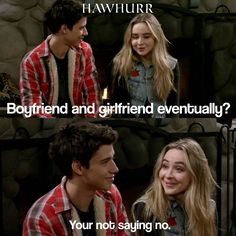 Girl Meets World (3x09)<---he never said no in the first place especially after they were having family game night. I think when he told her in the Christmas episode 'Wow you grew up gorgeous' is when he began to like her and fought so hard to keep her in the friend zone by saying that he's too old for her, even though he was only three years older.