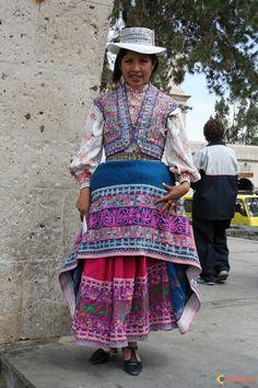 Arequipa traditional costume
